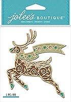 Jolee's Boutique Adhesive Laser-Cut Wood Embellishment-Deer