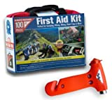 Always Prepared 126 Piece First Aid Kit - All-Purpose Lightweight Portable Emergency First Aid Survival Kit - School...