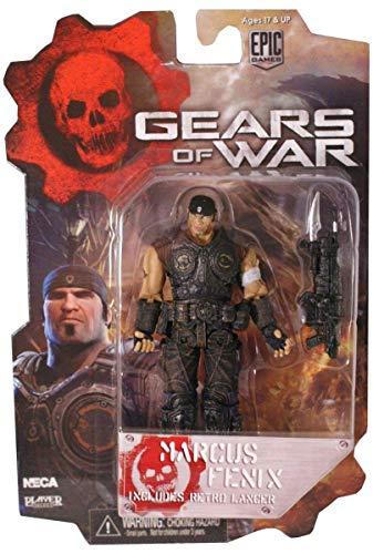 "Gears Of War - Marcus Fenix With Retro Lancer - 3 3/4""(9.5cm) Figure"