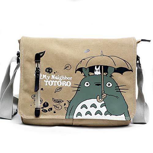 Totoro Anime - Mochila escolar japonesa