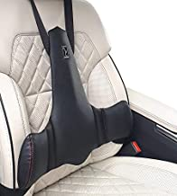 KULIK SYSTEM - New Lumbar Support for Car - Innovative Car Back Support - Car Seat Cushions for Lower Back - Lower Back Pillow for Car - Patented (Black)
