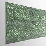 MEGADECOR DECORATE YOUR HOME Cabecero Cama PVC 5mm Decorativo Económico. Modelo - NYBRO (150x60cm, Verde Vintage)