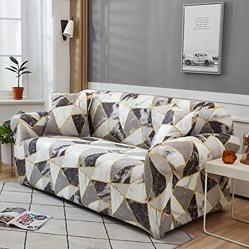Funda de sofá Funda de sofá elástica geométrica para Sala de Estar Sofá de Esquina seccional Moderno Funda de sofá Funda de sofá Protector de Silla A13 1 Plaza