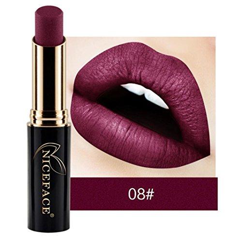 NICEFACE 24 nuances New LIP lingerie Matte rouge à lèvres liquide maquillage brillant à lèvres (08#)
