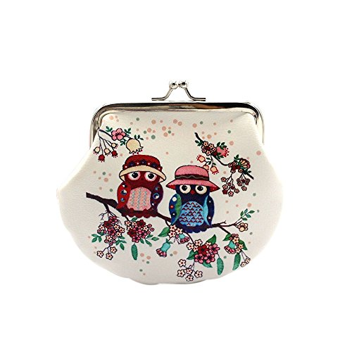 Hzing Owl Coin Money Bag Purses & Coin Pouches for Women and Girls
