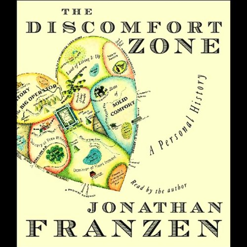 The Discomfort Zone audiobook cover art