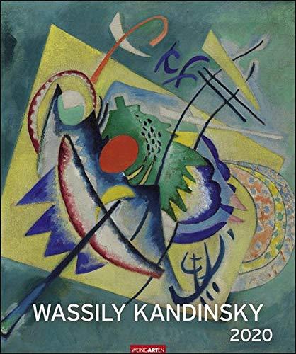 Wassily Kandinsky Edition. Wandkalender 2020. Monatskalendarium. Spiralbindung. Format 46 x 55 cm
