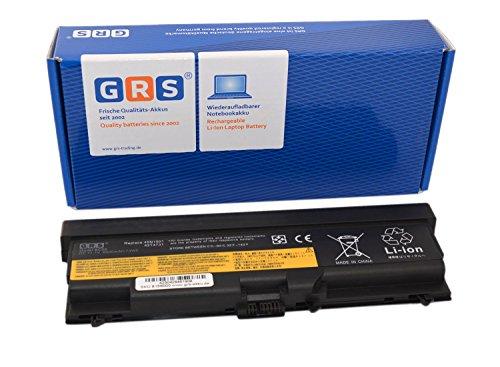 GRS Akku mit 6600mAh für Lenovo T410 T410i T420 T420i T430 T510 T530 L410 L412 L420 L520 L530 Serie, ThinkPad E40, E50, W510,W520 Serie, ThinkPad Edge 14