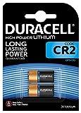Pile lithium haute puissance Duracell CR2 3V, pack de 2 (CR15H270), conçue pour une utilisation...