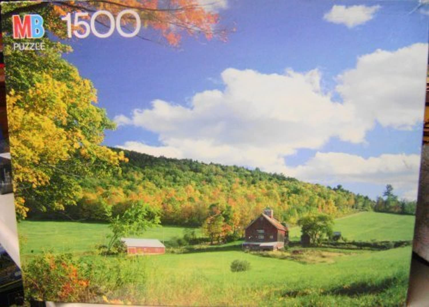 1500 Piece York Puzzle  Peacham, Vt by MB