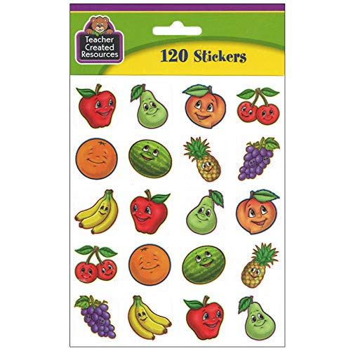 Teacher Created Resources Fruits Stickers, Multi Color (5755) Photo #2