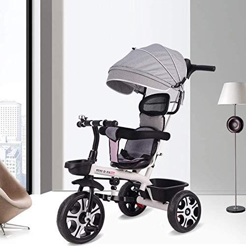Triciclo para niños pequeños, 4 en 1 TRIFER W/Padre, Taba�
