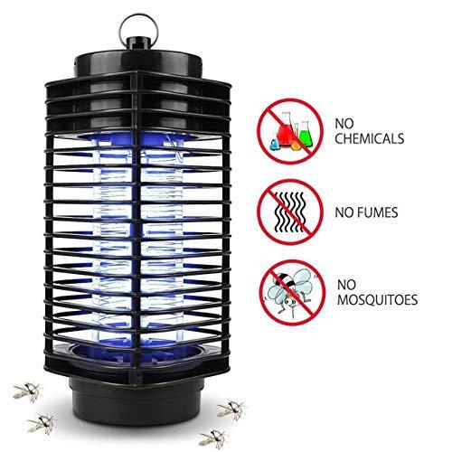 iweed Zanzariera Elettrica Lampada Antizanzare con Luce UV Insetti Trappola Mosquito Killer Lamp Anti Zanzare Insetticida per Casa Giardino Interno Esterno