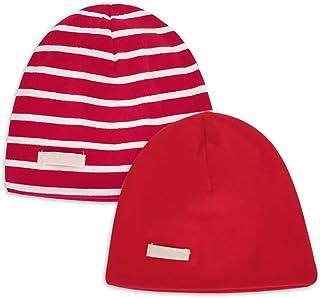LACOFIA 2 Piezas Gorro Beanie para bebé Sombreros de Punto Calientes para bebés niñas y niños Gorra de algodón 100% súper ...