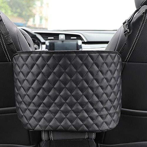 Aqzor Bolsa de almacenamiento para asiento de coche y bolso de mano con red para colgar bolsa de almacenamiento de coche (36,8 x 25,4 x 12,7 cm)