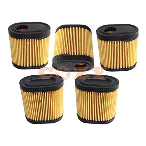 5 filtros de aire para cortadora de césped Tecumseh 36905 de repuesto para cortacésped Toro Garden cortadora de césped para máquina de cortar césped
