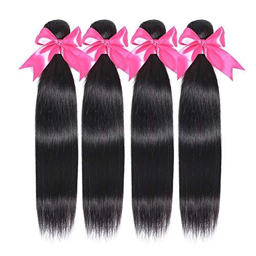 10a Brazilian Hair Bundles Straight Human Hair Weave Bundles Brazilian...