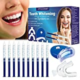 Blanchiment des Dents,Gel Blanchiment Dentaire,Teeth Whitening Blanche,Kit blanchiment dentaire,Réutilisable Kit Dents Soins Dentaires à Domicile 10 gels x 10ml