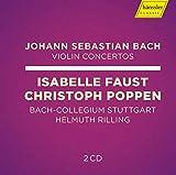 Bach : Concertos pour violon. Faust, Poppen, Rilling.