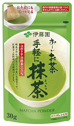 Itoen Japanese Tea ITO EN easily Matcha 30g
