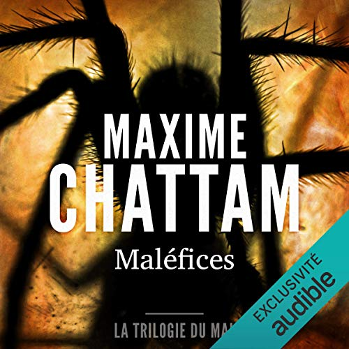 Maléfices Audiobook By Maxime Chattam cover art