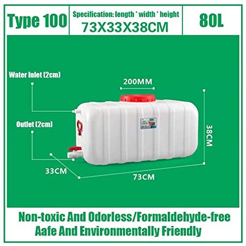 Tanque de agua multifuncional para viajes al aire libre 25L / 45L / 80L / 110L / 160L / 200L Dispensador de plástico HDPE Nevera Tanque de bebidas Recipiente de agua para bebidas líquidas con grifo (T