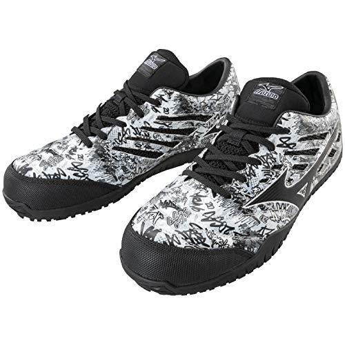 [ミズノ] 安全靴 TD11L F1GA1900   10:ホワイト×ブラック 25.0cm