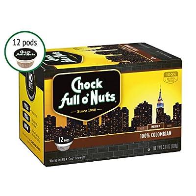 Chock full o'Nuts Coffee 100% Colombian Medium Roast by Chock full o'Nuts