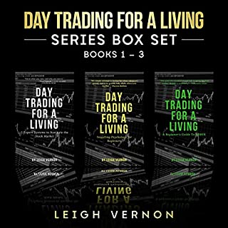 Day Trading for a Living Series Box Set, Books 1-3 audiobook cover art