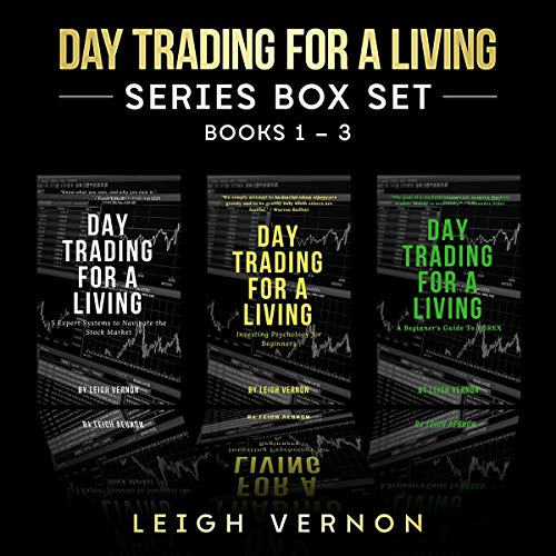 Couverture de Day Trading for a Living Series Box Set, Books 1-3