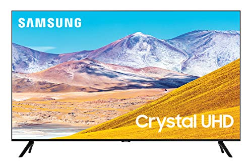 Samsung 85-inch Class Crystal UHD TU-8000 Series - 4K UHD HDR Smart TV with Alexa Built-in (UN85TU8000FXZA, 2020 Model)
