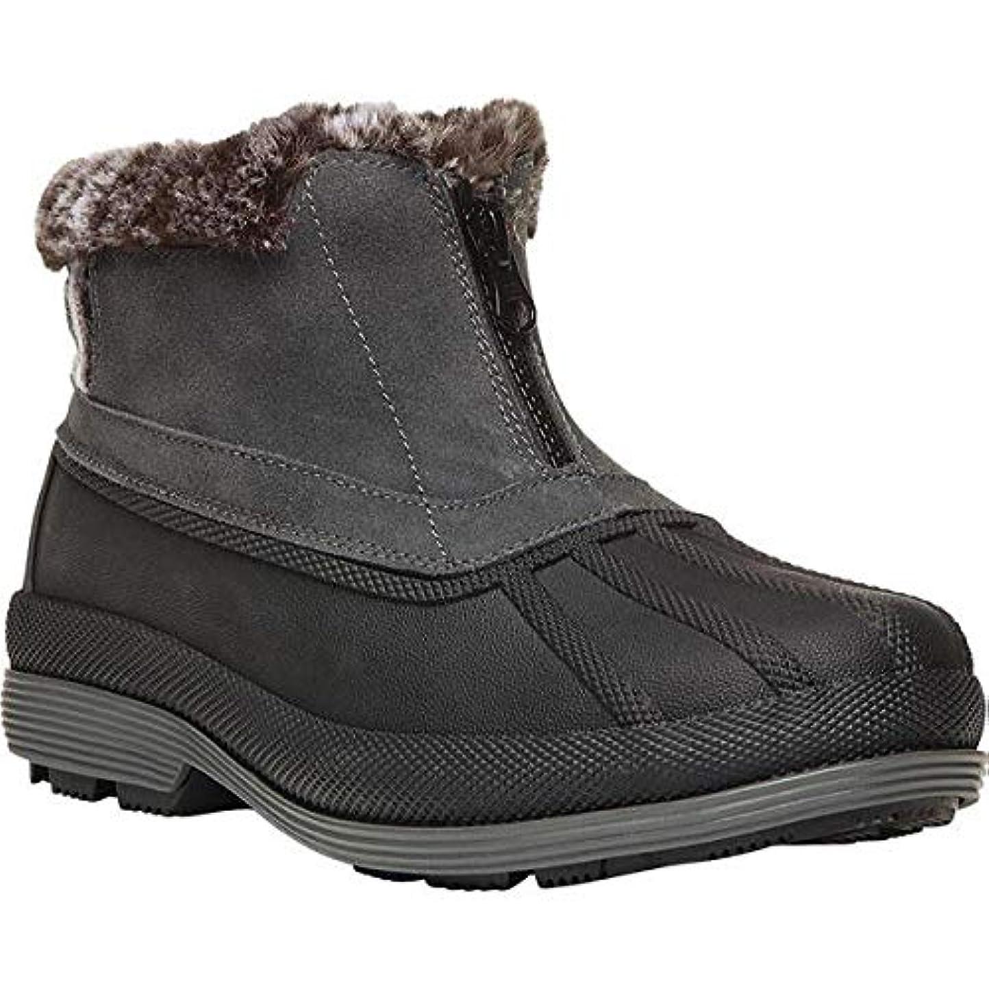 破滅的なあまりにも健全[プロペット] レディース ブーツ&レインブーツ Lumi Ankle Zip Duck Boot [並行輸入品]