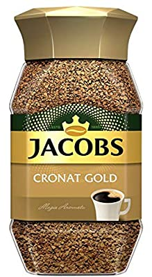 Jacobs Cronat Gold Instant Coffee 200 Gram / 7.05 Ounce (Pack of 1)