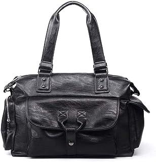 حقائب يد للرجال من Lizhuanlichnsstb ، حقيبة ظهر جديدة كبيرة ، حقيبة سفر وثائق سفر رجال الأعمال ، حقيبة يد جلدية حقيبة كتف ...