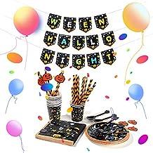 24 Mensen Halloween Horror Party Servies Wegwerp Keukengerief Paper Products Decoraties Witch Pompoen Gelukkig Theme for H...