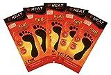HEAT FEET 5 Paar Sohlenwärmer I Wärmesohle für Schuhe Aller Art I Einheitsgröße I Fußwärmer Pads für warme Füße I bis zu 10 Stunden 50°C I sofort einsatzbereit I Luftaktiviert I Rein natürlich