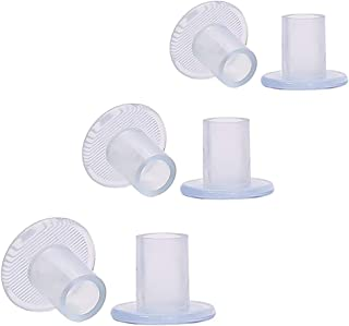 6 pairs High Heel Protectors Stoppers with Small Medium Large Size Transparent