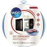 wpro DFG270 - Mikrowellenzubehör/ Auftauplatte 2in1 für Mikrowellen/ für das Auftauen und Erhitzen von Lebensmitteln in der Mikrowelle/ Ø27cm