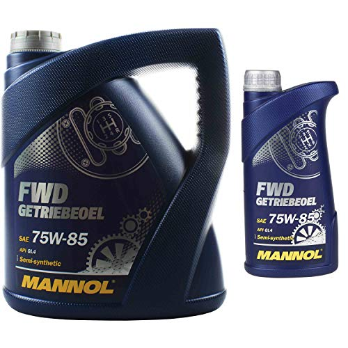 5 Liter Original MANNOL Getriebeöl FWD Getriebeoel 75W-85 API GL 4
