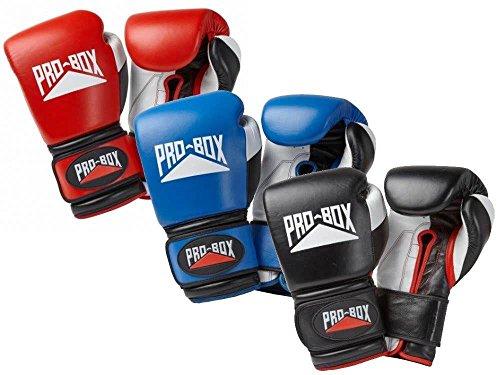 Caja de Pro guantes de boxeo 10oz 12oz 14oz 16oz Martillo 20oz, rojo