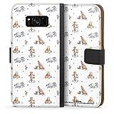 DeinDesign Étui Compatible avec Samsung Galaxy S8 Plus Duos Étui Folio Étui magnétique Winnie...
