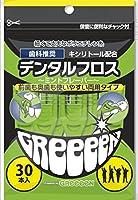 GReeeeN Y字型デンタルフロス ミントフレーバー 30本入