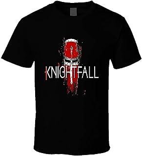 Knightfall Templar TV-serie noodlijdende stijl Logo T-shirt