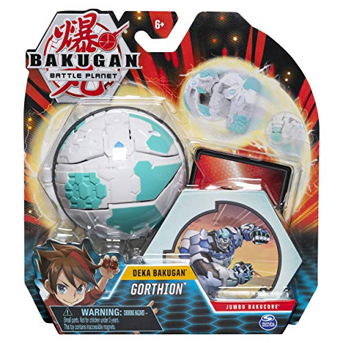Bakugan Deka, Gorthion, Jumbo Collectible Transforming Figure, for Ages 6 & Up, Multicolor