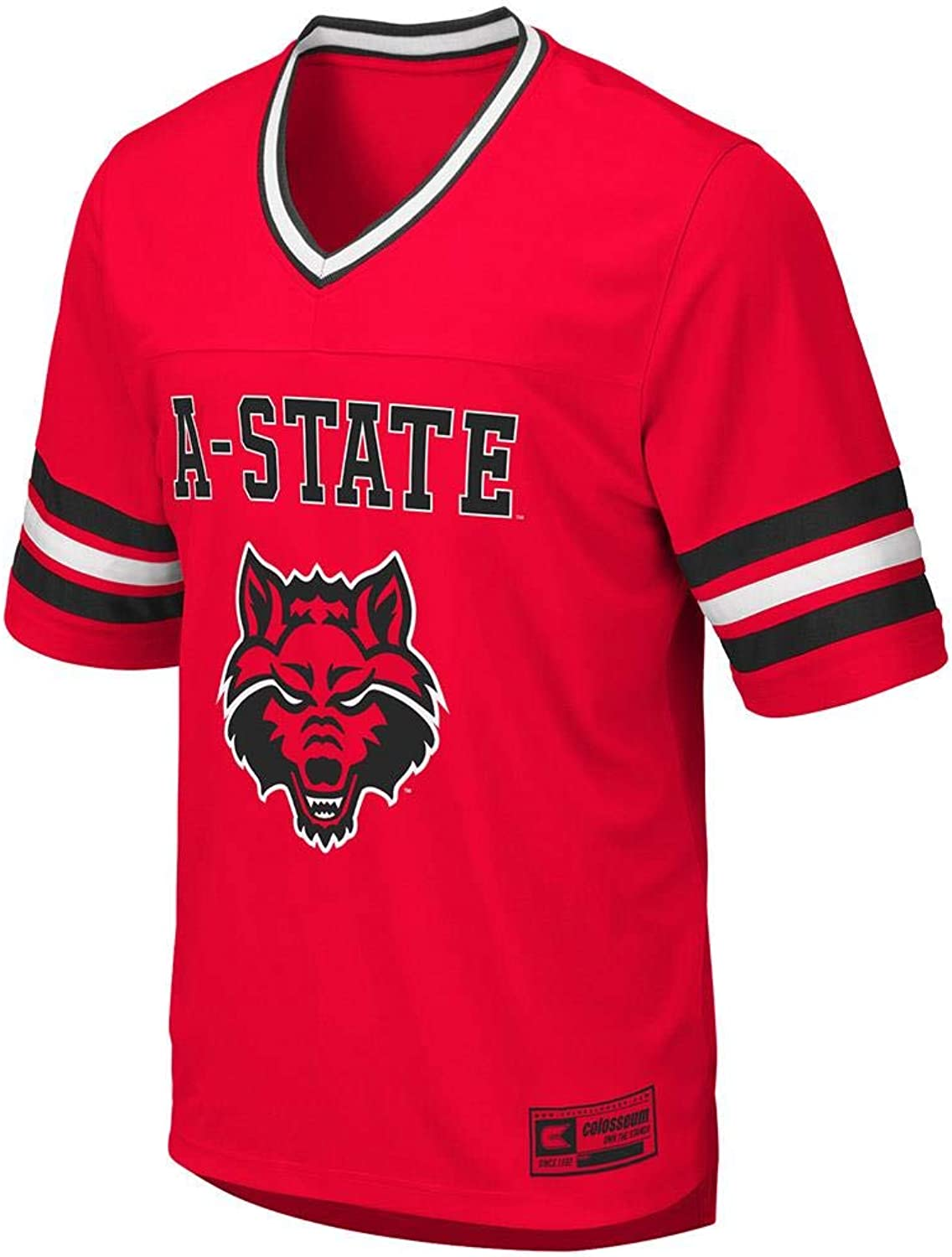 Colosseum Mens Arkansas State Red Wolves Football Jersey
