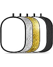 """Neewer 5 in 1 Draagbare Multi 40""""x 60""""/100 x 150 CM Camera Verlichting Reflector/Diffuser Kit met Draagtas voor Fotografie"""