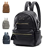 Miss Fong Backpacks For Women , Leather Backpack, Laptop Backpack with USB Charger,Fits