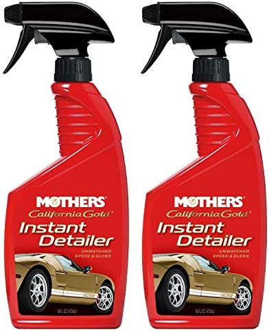 Exterior Car Detailer Mothers Instant Detailer Spray 16 oz 2 Pack product image