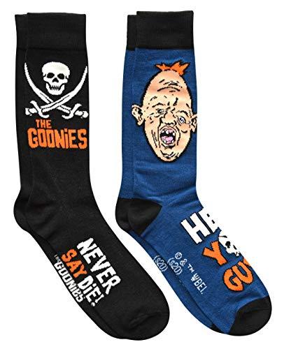 Hyp The Goonies Never Say Die Sloth Men's Crew Socks 2 Pair Pack