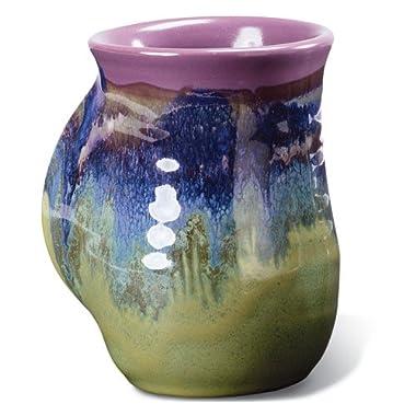 Clay in Motion Handwarmer Mug - Mossy Creek - Right Handed